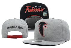 NFL Atlanta Falcons Snapback Mitchell And Ness Gray Hats 069|only US$8.90