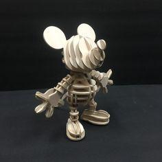 Puzzle en bois 3D Mickey Mouse Disney