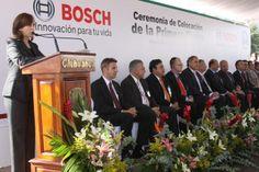 Primera piedra nuevo edificio Planta Boch, Cd. Juárez Chihuahua