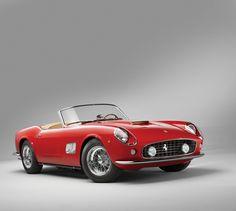 Sketchbook historic cars Pictures: 1962 - Ferrari 250 Gt SWB California Spyder