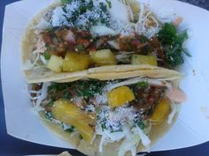Tacos Al Pastor by Seis Curbside Kitchen won 3rd place at the Tucson Taco Festival!