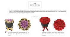 ROSAS ETERNAS Fresco, Color Rosa, Bouquet Of Roses, White Roses, Innovative Products, Flowers, Fresh