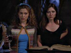 Season 3 Serie Charmed, Charmed Tv Show, Beautiful Witch, Shannen Doherty, Photo Charms, Alyssa Milano, Gilmore Girls, Season 3, Ikon