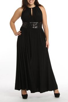 RM Richards Caitlyn Dress In Black - Beyond the Rack