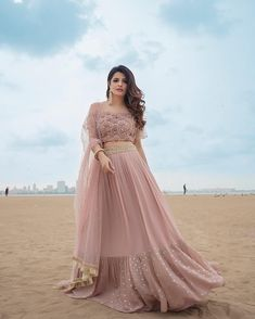 Pink net lehenga choli party wear lengha blouse Indian dress for women's latest design custom stitch - Lehenga Gown, Lehnga Dress, Party Wear Lehenga, Party Wear Dresses, Pink Lehenga, Net Lehenga, Wedding Dresses, Indian Dresses For Women, Indian Gowns Dresses