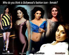 Who do you think is Bollywood's fashion icon – female?