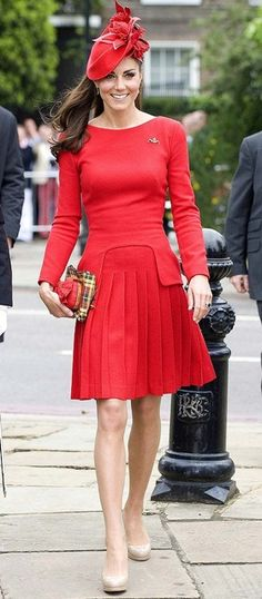 Kate Middleton in Alexander McQueen during the jubilee celebrations