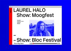 Laurel Halo Website