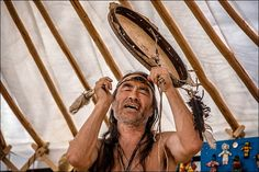 White Wolf : Powerful Photographs Of The Shamans Gathering In Siberia