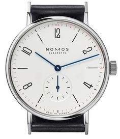 NOMOS Tangente Alma Mater – Limited Edition 100 (note the thin red line along the first quarter).