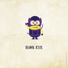 Hawk Eye minion...