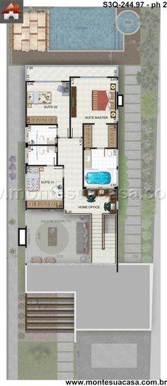 Planos de casas y plantas arquitect nicas de casas y for Casa clasica procrear terminada