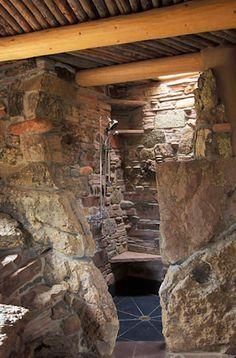 Resultado de imagen de rustic shower