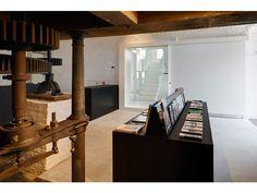 Moulin de la Paix-Dieu : Binario Le Moulin, Stairs, Home Decor, Architects, Peace, God, Stairways, Stairway, Interior Design
