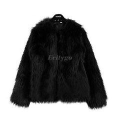 2017 New Winter Warm Faux Fur Coat Women O Neck Faux Fur Coats Jacket Feminino Vintage Mink Fox Jacket 10 Colors Size S M L XL-in Faux Fur from Women's Clothing & Accessories on Aliexpress.com   Alibaba Group