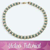 collier idylle by perles par puca Bubble Bobble, Bracelet Tennis, Swarovski, Choker, Creations, Beaded Bracelets, Hobby, Tutorial, Video