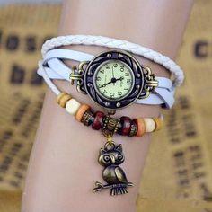 Relógio coruja pulseira branca: http://corujatanastore.blogspot.com/2017/04/relogio-coruja-pulseira-branca.html