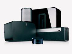 Alexa commands for Sonos — Digital - Smart Home Automation: Lighting, Audio & Cinema Sonos Speakers, Home Audio Speakers, Hifi Audio, Sonos App, Sonos Music System, Audio System, Amazon Echo, Amazon Today, Alexa Commands