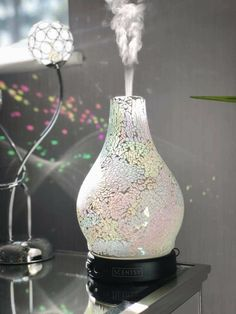 Finished in a crackled glass-like effect, Enchant is a perfect piece for the bold at heart. Make a statement with striking diffuser designs and all-natural fragrance delivered instantly in a swirl of color and light. Scentsy Uk, Wow Products, Essential Oil Diffuser, Natural Oils, Enchanted, Glass Beads, Diffusers, Artisan, Fragrances