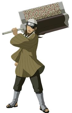 Edo tensei 7 ninja swordsman of the mist memeber, user of the explosion blade : Jinpachi