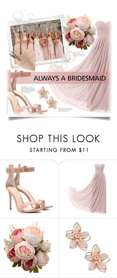 """""""Untitled #1319"""" by kaymeans ❤ liked on Polyvore featuring Gianvito Rossi, Remedios and NAKAMOL"""