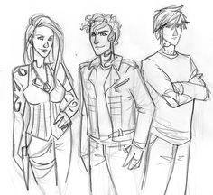 Isabelle, Jace, & Alec.