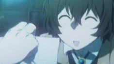 ( tries to copy dazai's smile with a non dopey emoji! Anime Kiss, Manga Anime, Anime Art, Anime Music Videos, Anime Songs, Dazai Bungou Stray Dogs, Stray Dogs Anime, Emoji, Tamako Love Story