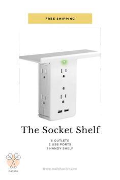 Built In Storage, Storage Shelves, Locker Storage, Shelf, Outlet Extender, Sonos, Electrical Outlets, Sewing Studio, Household Items