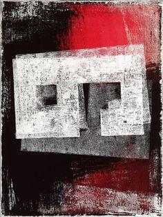 Petr Strnad | Saatchi Art Canvas Signs, Canvas Art, Abstract Styles, Abstract Art, Original Art, Original Paintings, Create Picture, Grunge Art, Mixed Media Canvas