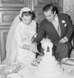 Linda Christian e Tyrone Power - 28 Gennaio del 1949,nella chiesa di Santa Francesca Romana a due passi dal Colosseo,Roma