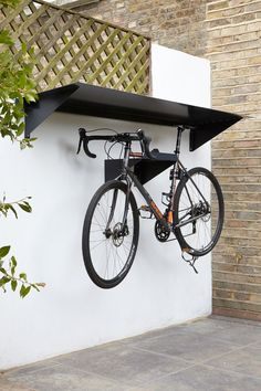 Simple Overhead Hang Off Shed Or Fence To Place Bikes Under Not Hanging