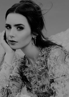 Lily Collins for Glamour México.