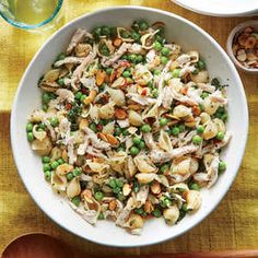 This verdant pasta salad signals a fantastic start to spring with a shower of fresh herbs. Mini shell pasta and peas are a perfect pair—t...