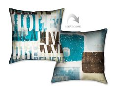 Live the Dream II Throw Pillow