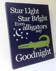 Hey, I found this really awesome Etsy listing at https://www.etsy.com/listing/164520837/baby-boy-alligator-nursery-decor-navy