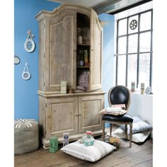Recycled Wood Hutch DRAGUIGNAN