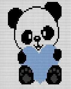 Fuse Bead Patterns, Perler Patterns, Cross Stitch Alphabet, Cross Stitch Animals, Knitting Charts, Baby Knitting Patterns, Cross Stitching, Cross Stitch Embroidery, Cross Stitch Designs