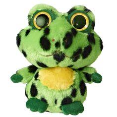 YooHoo and Friends Jumpee the 5 Inch Plush Frog by Aurora at Stuffed Safari