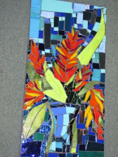 mosaic by KAT GOTTKE  mosaic artist ,,,,, called INSPIRED BY CLAIRE NO.3