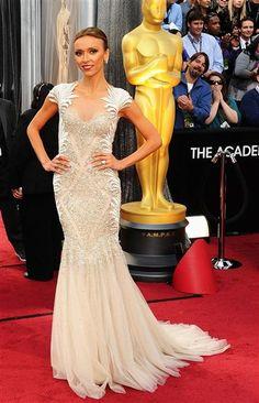 LOVE this dress. Giuliana Rancic at the Academy Awards. Oscars 2012. Tony Ward Couture.