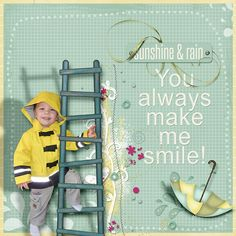 Puddles by Laurie Ann and Red Ivy Designs