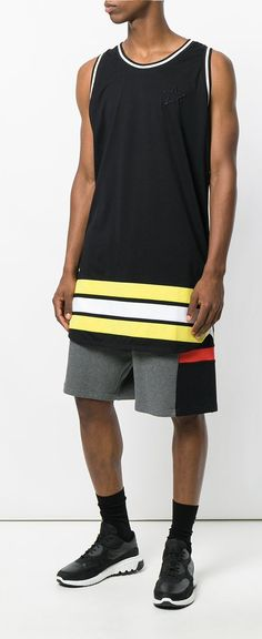 Givenchy Stripe Trim Vest Top