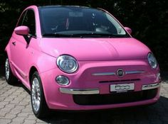 "So unbelievably cute!  5ooblog | FIAT 5oo: New Fiat 500 ""SO PINK"""