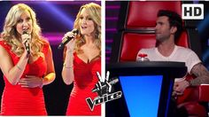 The voice : The Morgan Twins who make the judges fight each other to get...