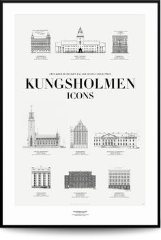 KUNGSHOLMEN ICONS via Edelströmska Galleriet. Click on the image to see more!