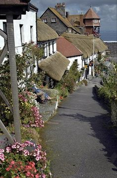 Lynmouth ~ is a village in Devon, England on the northern edge of Exmoor, Photo courtesy Catherine Ronan
