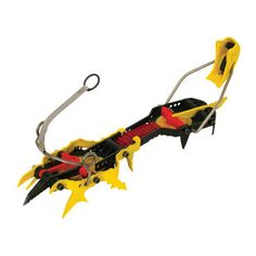 GrivelRambo 4 Crampon  GET SERIOUS ON BURLY ICE AND MIXED TERRAIN. GET THE AGGRESSIVE GRIVEL RAMBO EVOLUTION 4 CRAMPONS.