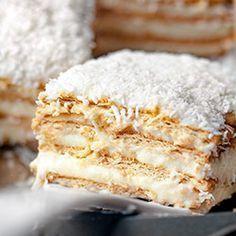 Ciasto Raffaello z petit beurre bez pieczenia | Kwestia Smaku