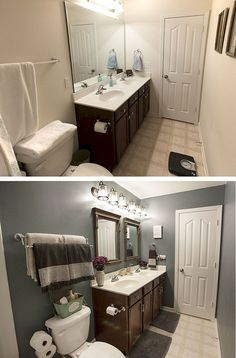 Simply Beautiful by Angela: Bathroom Makeover on a Budget | Big ...