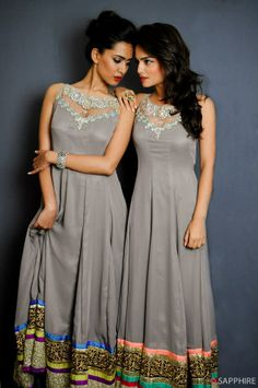 these would make great bridesmaids dresses! love the different borders :)